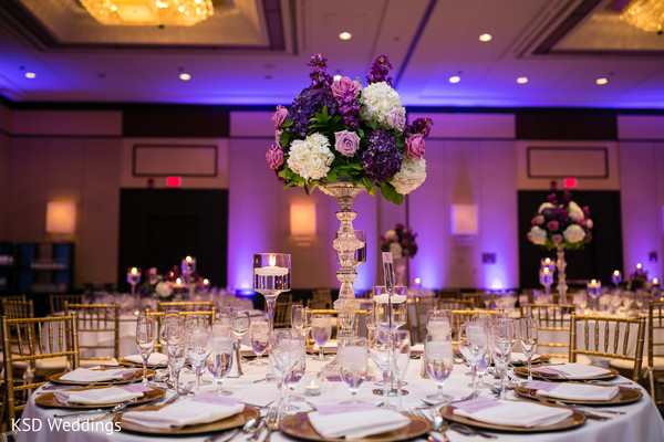 Lovely floral centerpieces