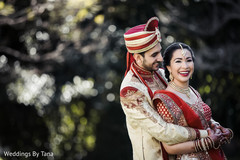Beautiful indian couple outdoor photography.