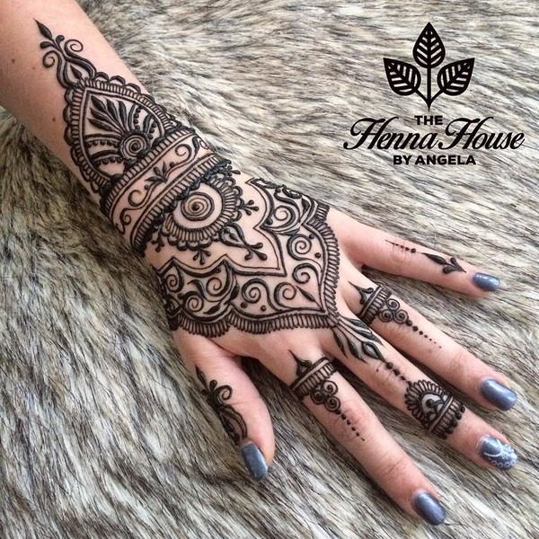 Henna Tattoo For Indian Wedding: Mehndi Maharani Finalist #3: The Henna House