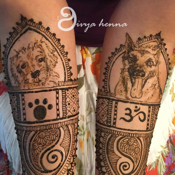 Animal Design Mehndi Photo 88660