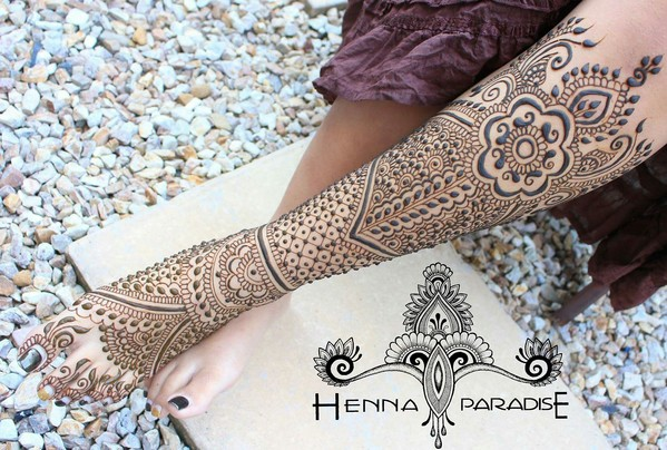 Bridal Mehndi On Foot : Bridal mehndi on feet in maharani finalist henna