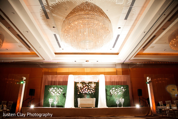 reception stage,indian wedding reception,indian wedding reception floral and decor