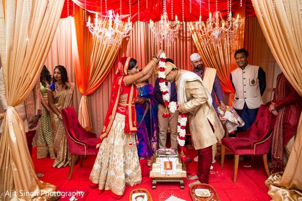indian wedding ceremony,outdoor indian wedding decor,indian bride