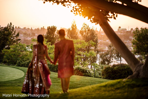 indian bride,outdoor photography,indian sangeet