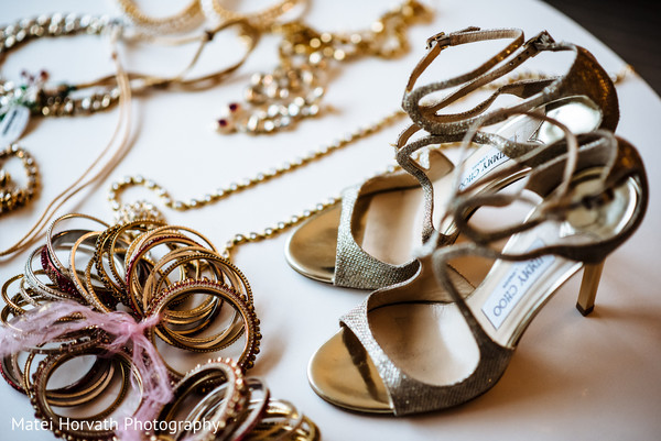 bride jewelry set photography,indian wedding shoes