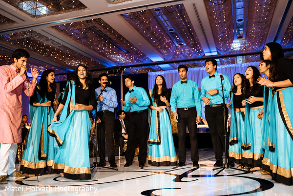 performers,indian wedding reception