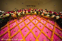 flower backdrop,indian wedding floral and decor