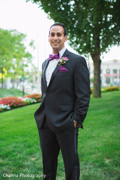 Elegant indian groom.