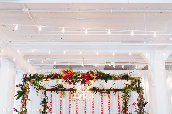 indian wedding,indian wedding floral and decor,flower mandap