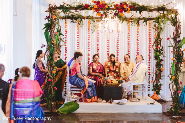 indian wedding photography,flower mandap