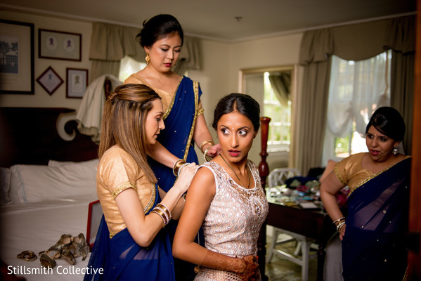 indian bride getting ready,indian bridal fashions,indian wedding dress