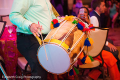 Dhol player.