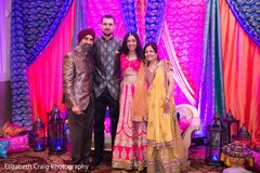 Sangeet family portrait.