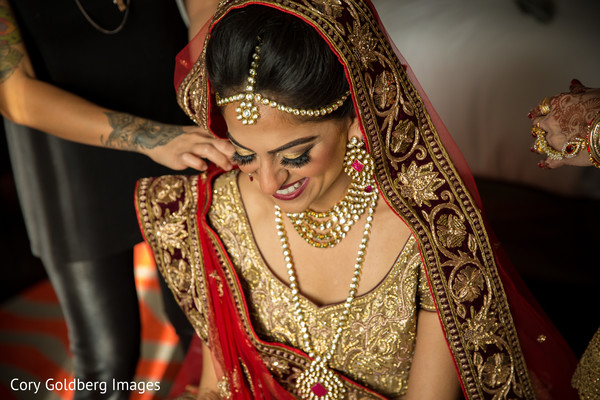 indian bridal fashions,indian bride makeup