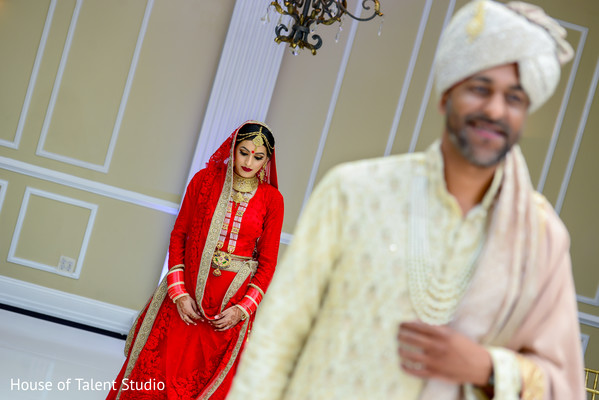 indian wedding first look,indian bridal fashions,indian bride
