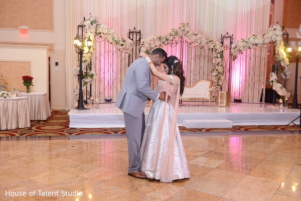 indian bride and groom first dance,indian wedding couple,indian wedding