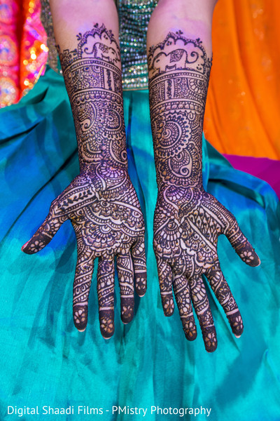 mehndi night,indian wedding design