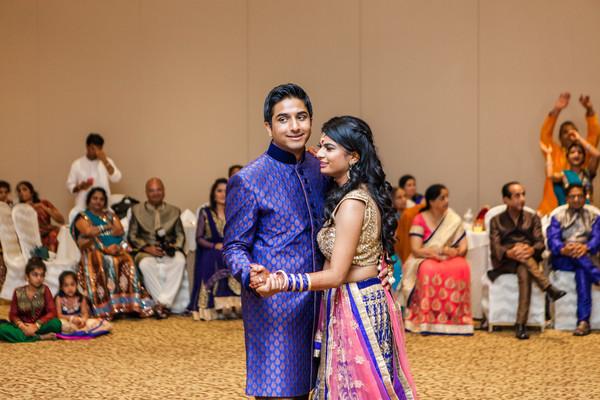 Sangeet couple portraits