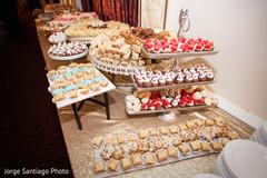 cake and treats,indian wedding treats,wedding dessert table