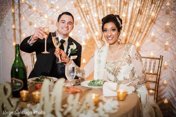 wedding table,outdoor indian wedding decor,toast