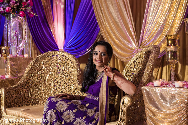 indian bride,reception stage,indian wedding reception