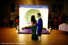 Intimate sangeet celebration.