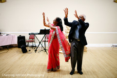 Lovely sangeet celebration choreography.