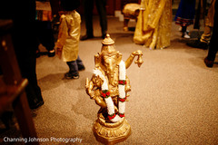 Lord Ganesh statue.