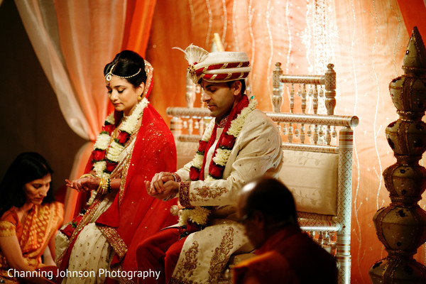 Indian wedding ceremony ritual.