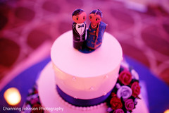 Lovely indian couple cake topper.