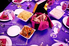 Indian wedding food.