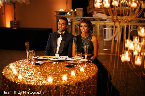 sweetheart table,indian wedding reception,indian wedding planning and design,indian wedding reception floral and decor