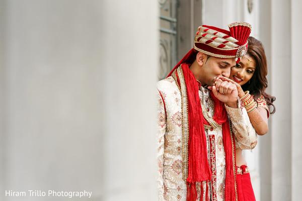 indian bride,indian groom,indian wedding portrait