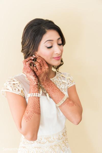 Sweet indian bride.