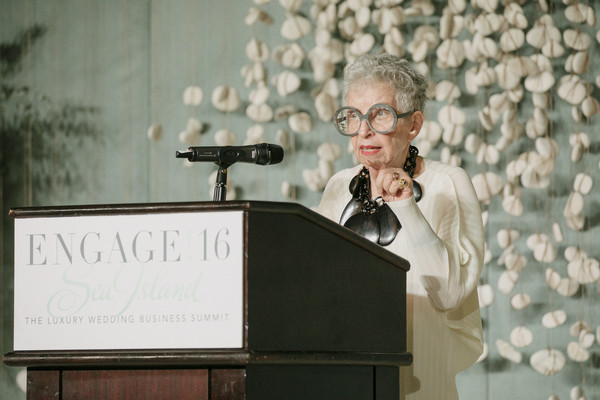 Sylvia Weinstock speaking at Engage 16