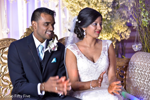 indian bride and groom,ceremony photography