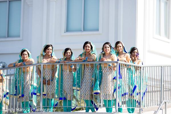indian weddings,indian bridesmaids