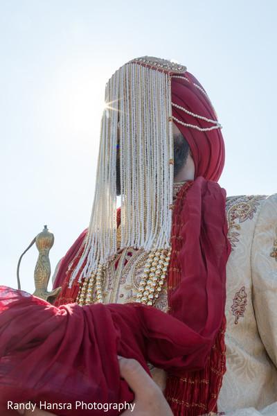 Sikh indian groom.