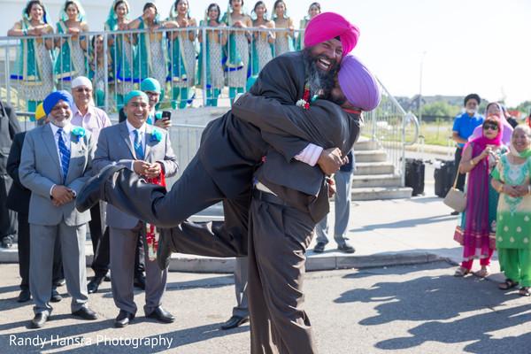 milni ceremony,sikh indian wedding