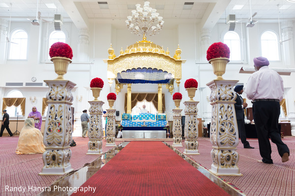 Beautiful Sikh Indian Wedding Decor Photo 92170