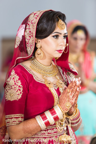 Beautiful sikh indian wedding decor.
