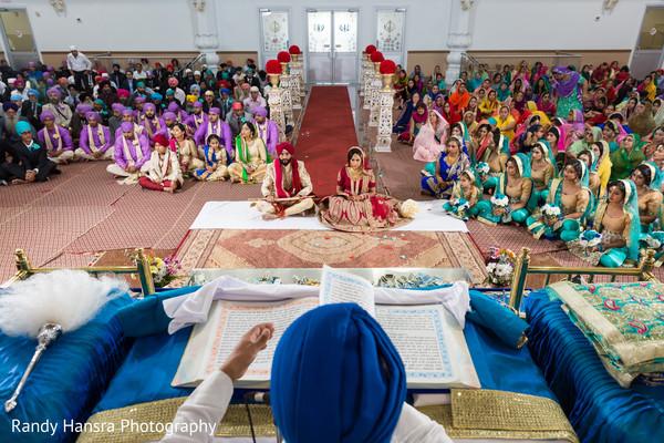 Sikh wedding ceremony.