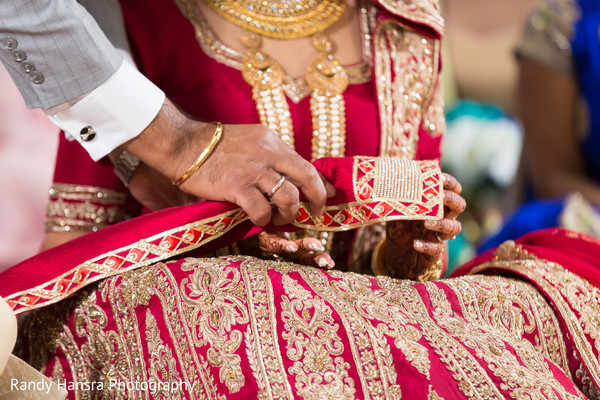 Sikh wedding ceremony ritual.