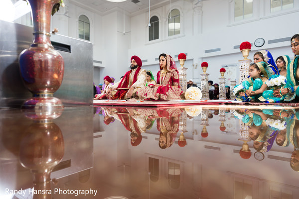 Dreamy sikh wedding ceremony.