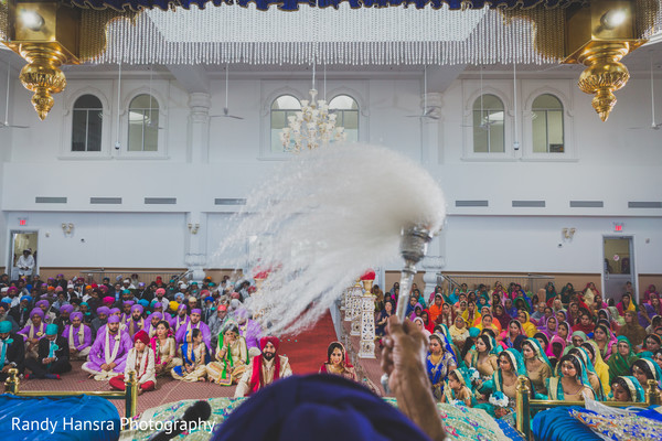 Great capture of sikh wedding ceremony.