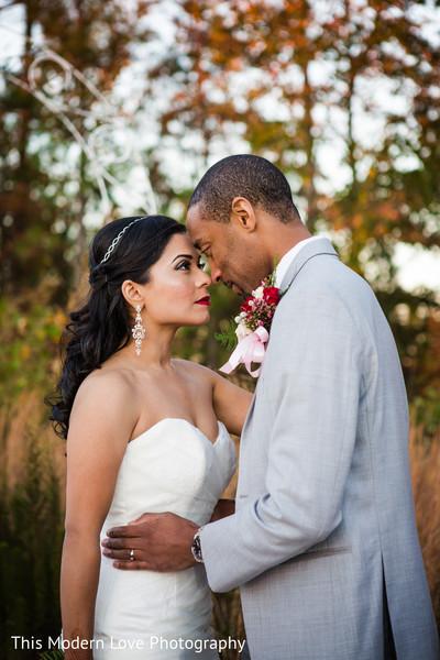 Lovely indian couple before wedding ceremony