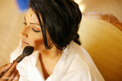 indian bride hair and makeup,pre-wedding ceremony photography,indian bride getting ready