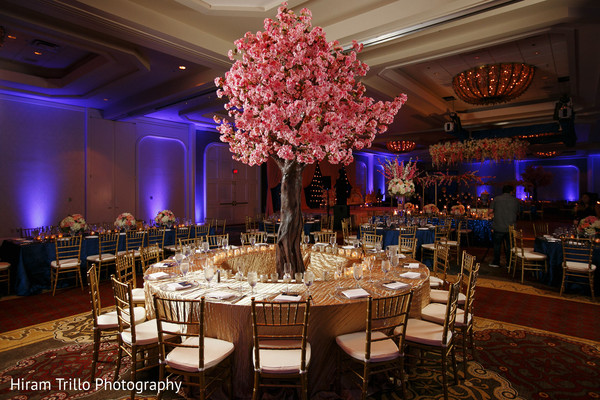 indian wedding reception floral and decor,indian wedding photography,table centerpieces