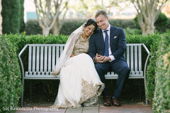 Indian couple outdoor photo session