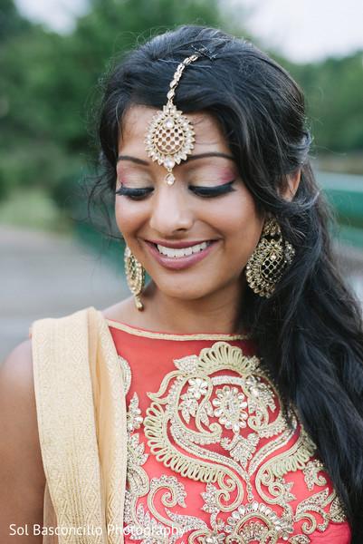 bridal tikka,indian bridal lengha,indian bride hair and makeup